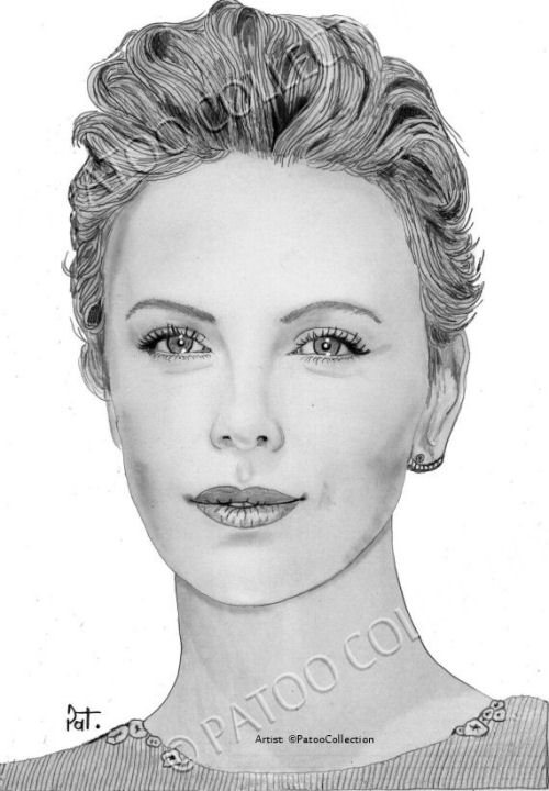 Charlize Theron by dedrika
